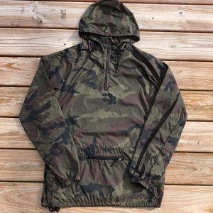 NEW! OBEY Camo Windbreaker Jacket